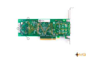 MFP5T DELL 8GB DUAL PORT HBA PCI-E QLE2562 FH BOTTOM VIEW