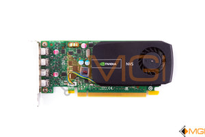 61P37 DELL NVIDIA NVS510 2GB DDR3 VIDEO GRAPHICS CARD FRONT VIEW