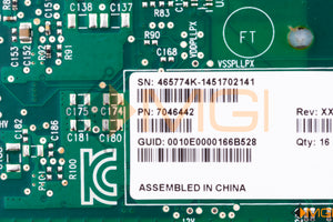 7046442 SUN ORACLE DUAL 40GB/SEC 4X QDR INFINIBAND HOST CHANNEL ADAPTER DETAIL VIEW