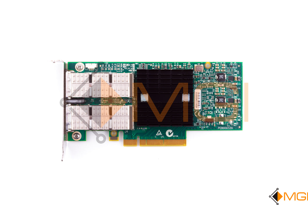 7046442 SUN ORACLE DUAL 40GB/SEC 4X QDR INFINIBAND HOST CHANNEL ADAPTER TOP VIEW