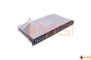 SF200-48 CISCO 48-PORT SMART SWITCH W/ 2 COMBO MINI-GBIC PORTS front view