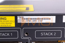 Load image into Gallery viewer, WS-C3750-24PS-E CISCO CATALYST 3750 24PT 10/100 2 SFP ENHANCE DETAIL VIEW