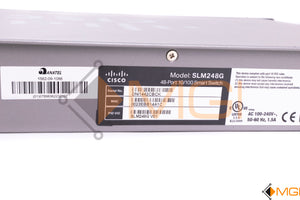 SLM248G CISCO SF200-48 10/100 FAST ETHERNET SWITCH DETAIL VIEW