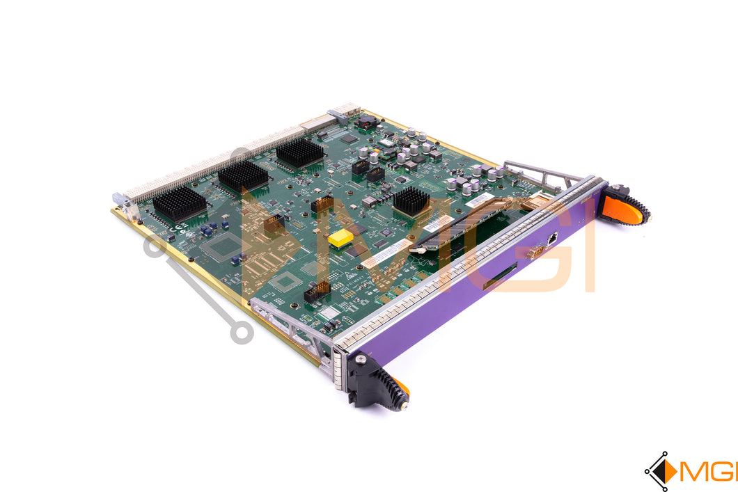 700119-00-05 EXTREME NETWORKS BLACK DIAMOND MANAGEMENT MODULE FRONT VIEW