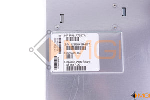 411847-001 A7537A HP STORAGEWORKS 4/32 BASE SAN SWITCH DETAIL VIEW