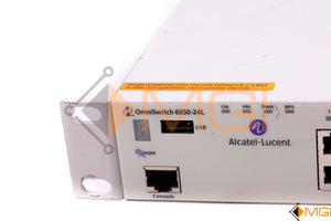 6850-24L ALCATEL LUCENT OMNISWITCH 24-PORT SWITCH DETAIL VIEW