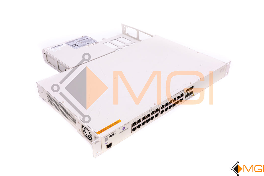 6850-24L ALCATEL LUCENT OMNISWITCH 24-PORT SWITCH FRONT VIEW