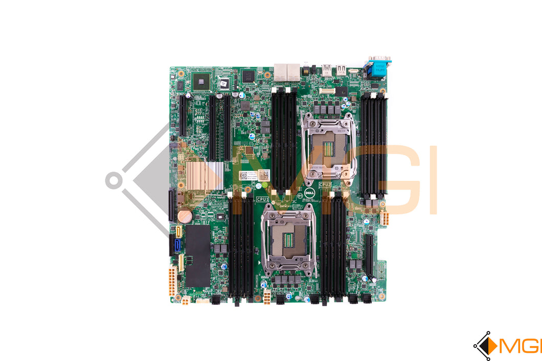 Y8YVJ DELL DSS 1500 SERVER INTEL DUAL CPU SOCKET DDR4 MOTHER BOARD TOP VIEW