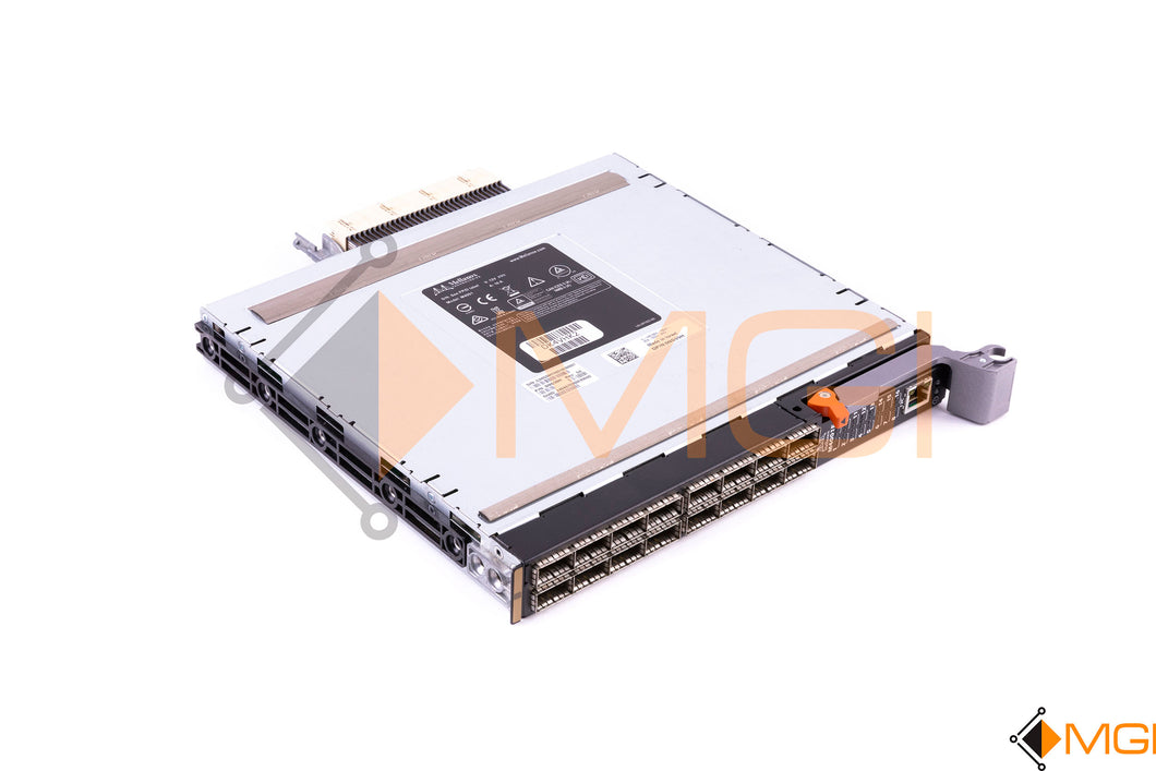 NG39H DELL/ MELLANOX 32 PORT 56GB/s INFINIBAND BLADE SWITCH FRONT VIEW