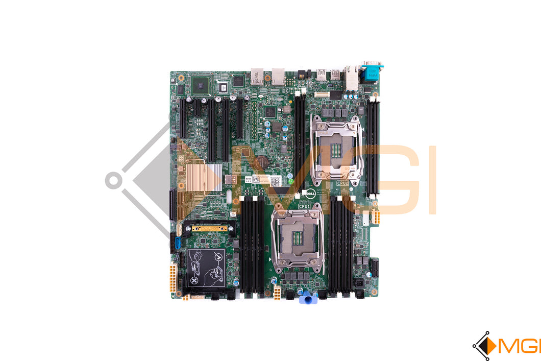 DYFC8 DELL POWEREDGE R430 R530 SYSTEM BOARD TOP VIEW