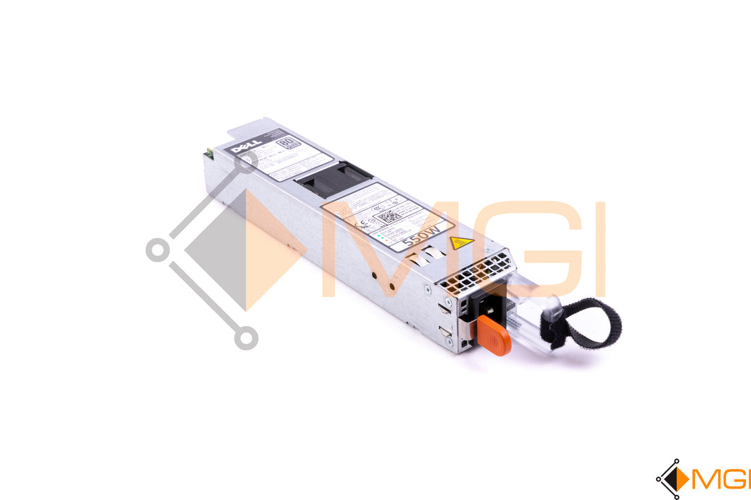 RYMG6 DELL 550W POWER SUPPLY FOR POWEREDGE R420/R320 FRONT VIEW