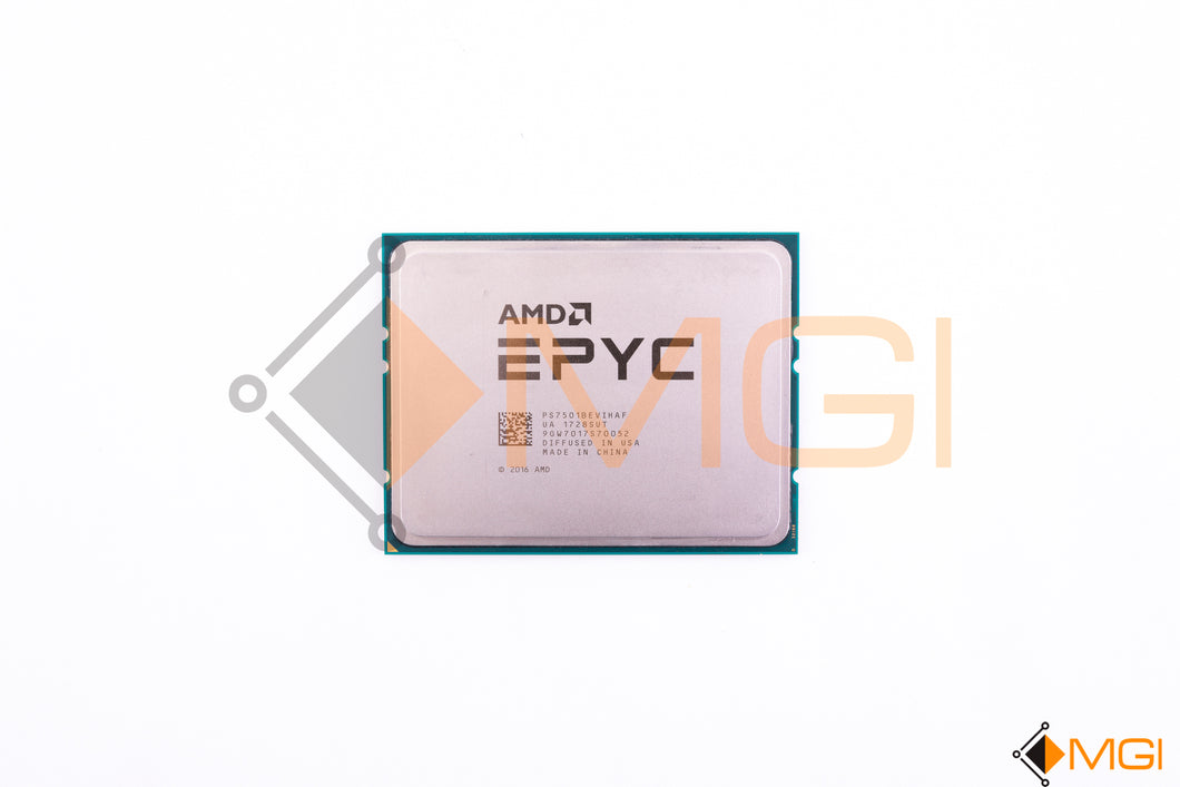 PS7501BEVIHAF AMD EPYC 7501 32 CORE 2.0GHZ CPU PROCESSOR FRONT VIEW