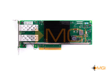 Load image into Gallery viewer, 5N7Y5 DELL / INTEL X710-DA2 CNA 10GB DUAL PORT SFP+ PCI-E 3.0 X8 CONVERGED NETWORK CARD TOP VIEW