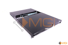 "Load image into Gallery viewer, B021-000-19 TRIPP-LITE NET DIRECTOR 1U 19"" RACKMOUNT KVM LCD FRONT VIEW"