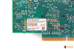 CX314A MELLANOX CONNECT X-3PRO EN 40GB ETHERNET CARD DETAIL VIEW