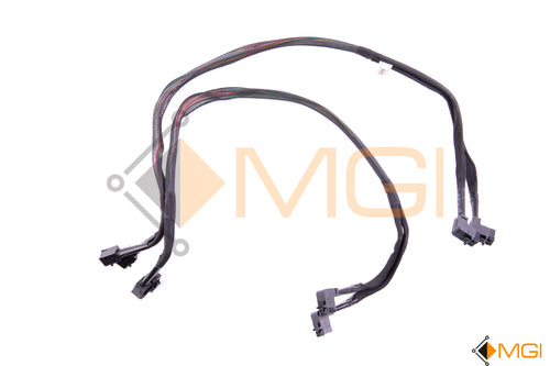 1PDFM DELL QUAD MINI SAS HDD SFF-8643 CABLE FOR DELL POWER EDGE R730XD SFF FRONT VIEW