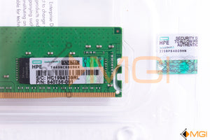 835955-B21 840756-091 HPE 16GB 2RX8 PC4-2666V-R SMART KIT NEW FACTORY SEALED DETAIL VIEW