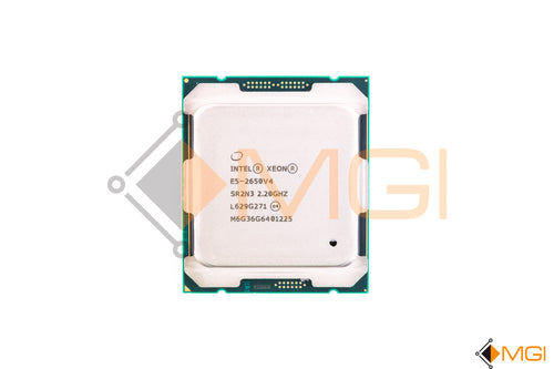 E5-2650 V4 SR2N3 INTEL XEON 12 CORE PROCESSOR 2.2GHZ 30MB SMART CACHE 9 FRONT VIEW