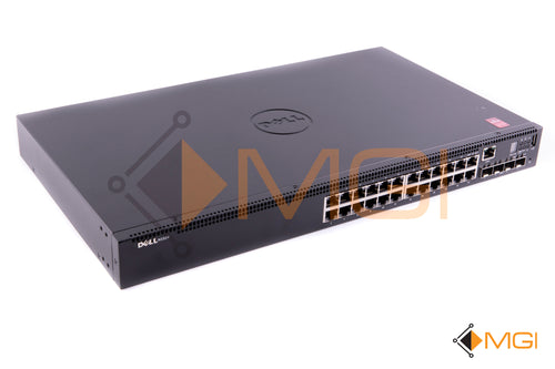 N1524 DELL NETWORKING 24P 1GBE 4P SFP+ SWITCH FRONT VIEW