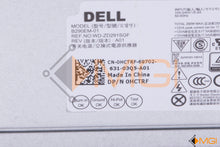 Load image into Gallery viewer, HCTRF DELL POWER SUPPLY B290EM-01 290W DETAIL VIEW