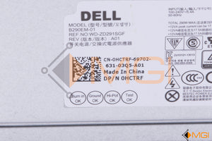 HCTRF DELL POWER SUPPLY B290EM-01 290W DETAIL VIEW