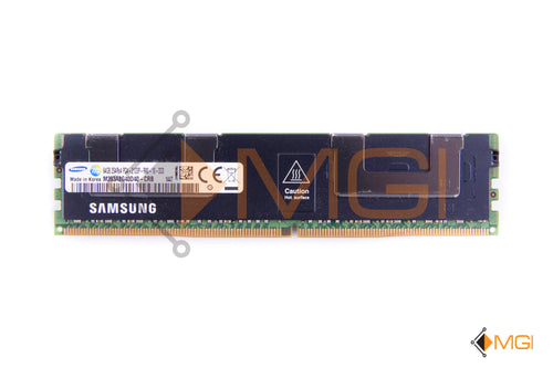 M393A8G40D40-CRB SAMSUNG 64GB QUAD RANK PC4-17000 DDR4-2133MHz ECC REG MEMORY FRONT VIEW