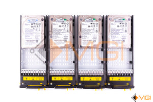 "791436-001 HP PAR3 600GB 10K 2.5"" SAS W/ TRAY PAR3 LOT OF 4 FRONT VIEW"
