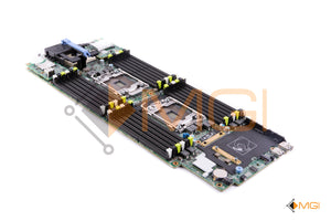 PHY8D DELL POWEREDGE M630 BLADE SERVER SYSTEM BOARD W/ INTERNAL SD RISER CARD + 10GBE DUAL PORT DAUGHTER CARD + 8GB iDRAC FLASH SD FRONT VIEW