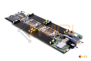 PHY8D DELL POWEREDGE M630 BLADE SERVER SYSTEM BOARD W/ INTERNAL SD RISER CARD + 10GBE DUAL PORT DAUGHTER CARD + 8GB iDRAC FLASH SD REAR VIEW