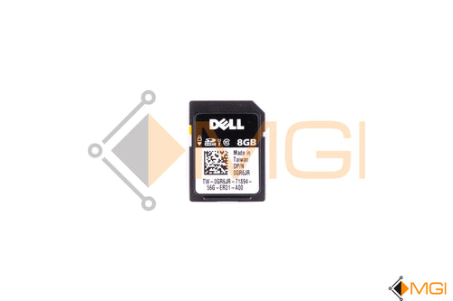 GR6JR DELL 8GB SD CARD FRONT VIEW