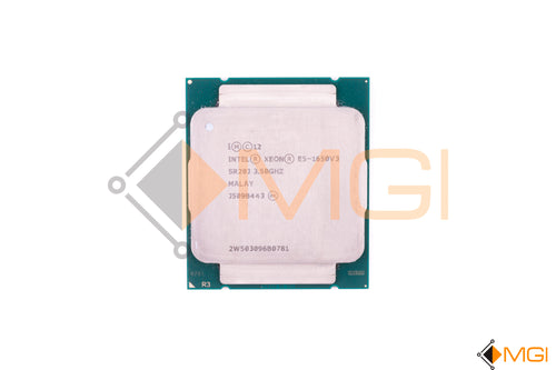 E5-1650V3 // SR20J INTEL XEON 3.5GHZ SIX CORE CPU CM8064401548111 FRONT VIEW