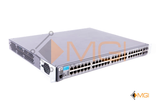 J9147A HP PROCURVE 48 PORT EXTERNAL MANAGED SWITCH FRONT VIEW
