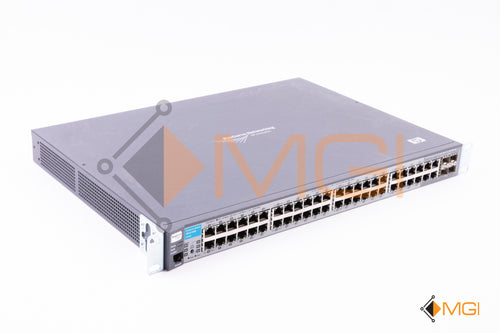 J9022A HP PROCURVE 2810-48G 48 PORT RACK MOUNTABLE ETHERNET SWITCH  FRONT VIEW