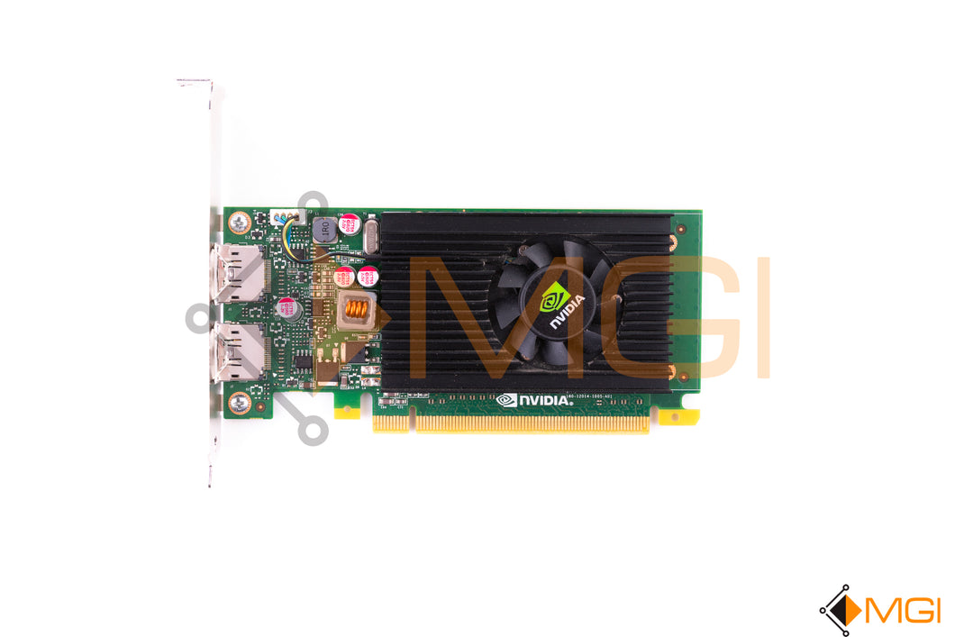 JTF63 DELL NVIDIA QUADRO NVS 310 512MB PCIE X16 TOP VIEW