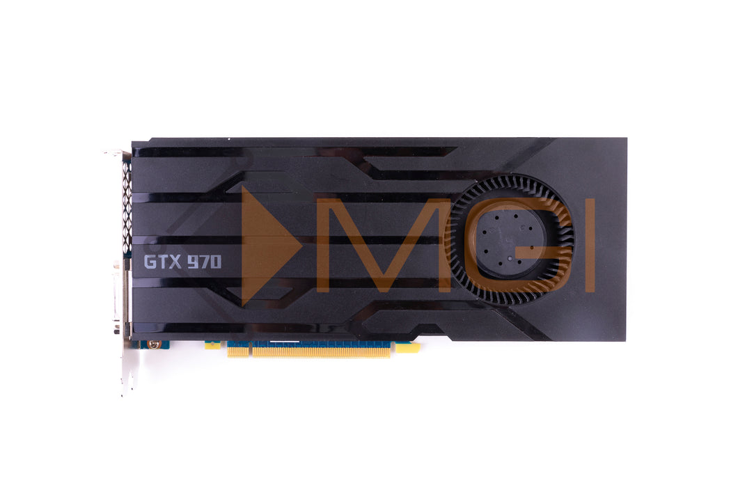 RW8C2 DELL NVIDIA GEFORCE GTX 970 4GB VIDEO GRAPHICS CARD TOP VIEW
