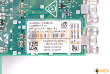 Load image into Gallery viewer, T3CYH DELL DUAL PORT 25GB SFP28 DAUGHTER CARD // MELLANOX CX4421A DETAIL VIEW