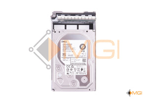 "NT1X2 DELL 4TB 7.2k 12GBPS 3.5"" SAS HDD TOP VIEW"