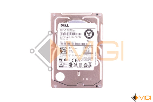 6DFD8 DELL 146GB 15K SAS 2.5 HDD (NO TRAY) (DC) - TOP VIEW