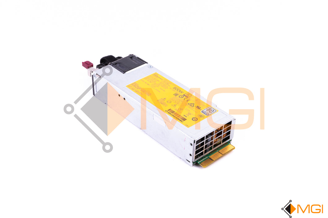 754381-001 HPE 800W FLEX SLOT PLATINUM HOT PLUG POWER SUPPLY - FRONT VIEW