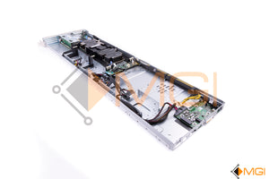 DSS 9620 DELL SERVER NODE W/ 2 X HEATSINKS, 1 X (6WH38) MOTHERBOARD, 1 X (W0WXJ) CONTROLLER CARD - BACK VIEW
