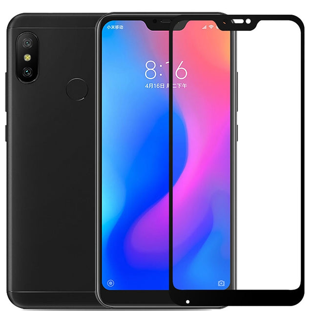 Full Cover Tempered Glass 9H Screen Protector for Xiaomi Mi A2 Lite - SunnySplit