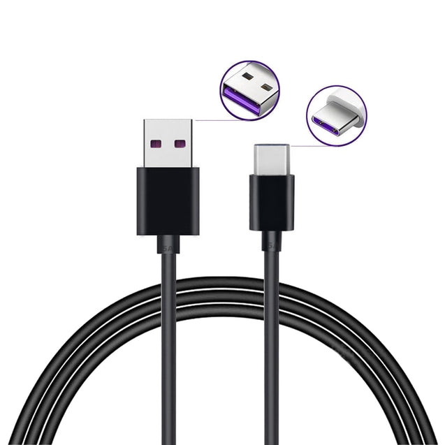 5A Quick Charge USB 3.1 Type-C Cable for Huawei Mate 20 / P20 Pro / P10 / P9 - SunnySplit