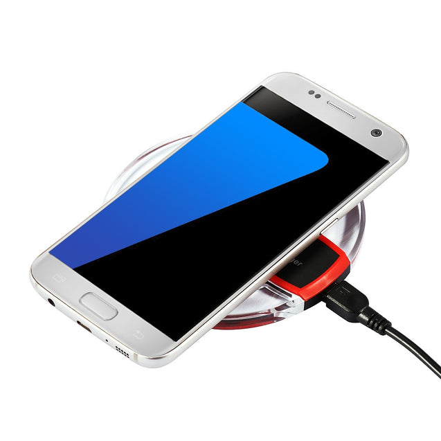 Ultrathin Wireless Charger USB Charge Pad - SunnySplit