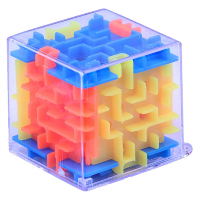 Funny Maze Magic Cube Cube Puzzle Game Ball Toy - SunnySplit