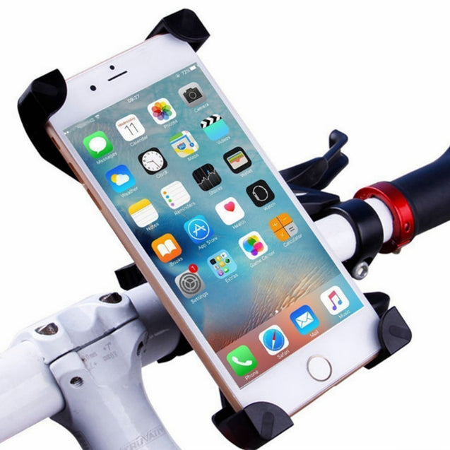 ZHISHUNJIA Universal Cycling Bike /Plastic Holder + Mount for Cellphone Pink - SunnySplit