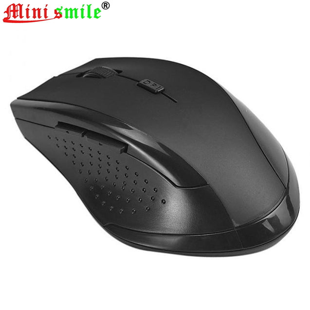 Minismile M73 2.4GHz 1200DPI 6 Keys Wireless Gaming Optical Mouse Mice Receiver - SunnySplit