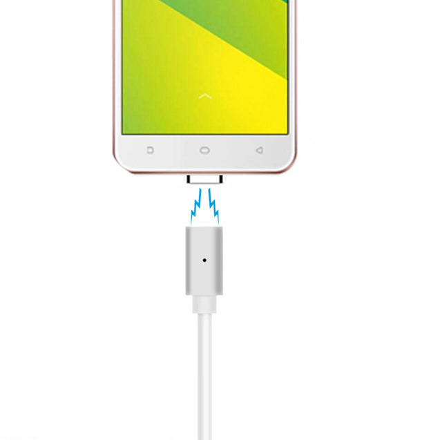 B5 Micro USB Android Mobile Phone Magnetically Charged Data Cable Dual Data  2.1A TPE material - SunnySplit
