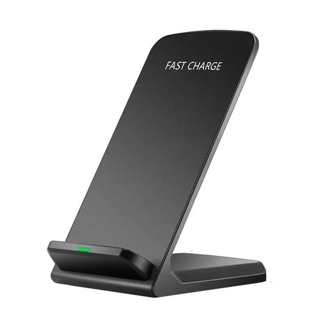 Qi Wireless Fast Charger Charging Stand Dock Pad for Samsung Galaxy S8 / S8+ / Note 8 iPhone X / 8 Plus 8 - SunnySplit