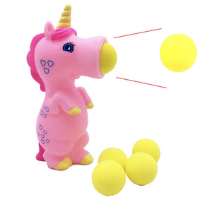 Unicorn Pieces Wild Animal Popper Squeeze Toys Shooting for Children Kids - SunnySplit