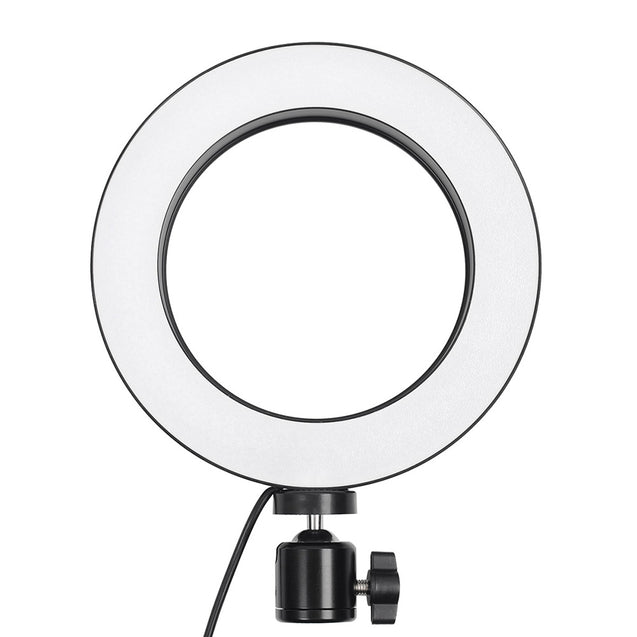 Mobile Phone Fill Lamp Camera LED Cold and Warm Dimming Ring Light - SunnySplit
